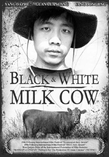 Black and White Milk Cow