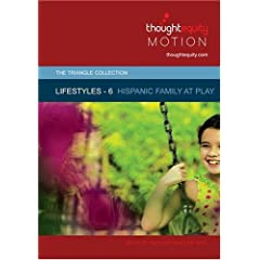 Lifestyles 6 - Hispanic Family at Play [SD] (Royalty Free Motion Video)