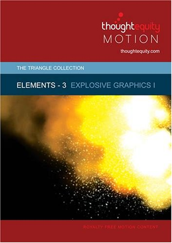 Elements 3 - Explosive Graphics I [SD] (Royalty Free Motion Video)