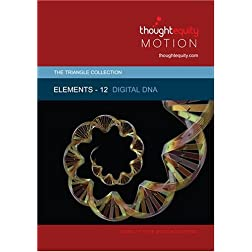Elements 12 - Digital DNA (Royalty Free Motion Video)