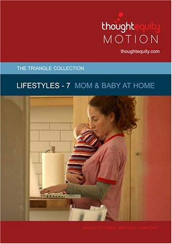 Lifestyles 7 - Mom and Baby at Home (Royalty Free Motion Video)