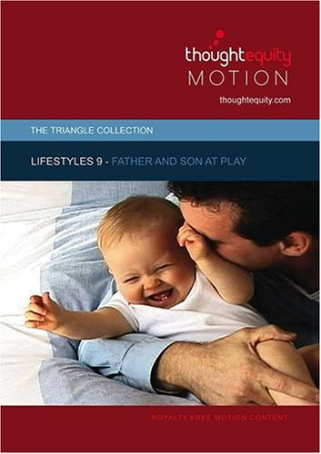 Lifestyles 9 - Father and Son at Play (Royalty Free Motion Video)