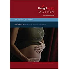 Lifestyles 15 - Mom-to-be Around the House [SD] (Royalty Free Motion Video)
