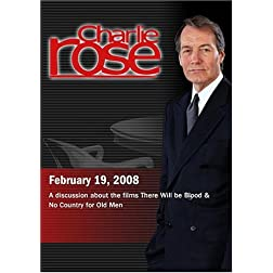 Charlie Rose - There Will be Blood & No Country for Old Men (February 19, 2008)