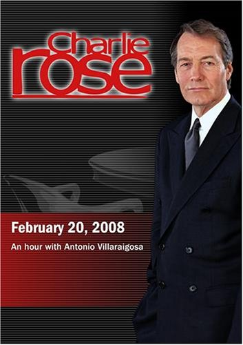 Charlie Rose - Antonio Villaraigosa (February 20, 2008)