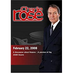 Charlie Rose - Nick Burns /  2008 Oscar Preview (February 22, 2008)