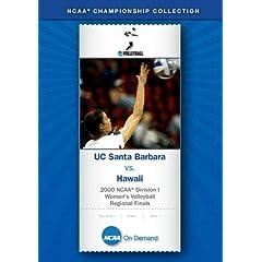2000 NCAA Division I Women's Volleyball - UC Santa Barbara vs. Hawaii