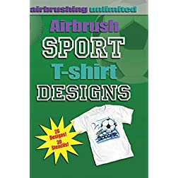 Airbrush Sport T-shirt Designs