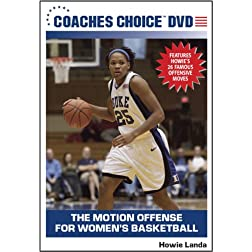 The Motion Offense for Women's Basketball