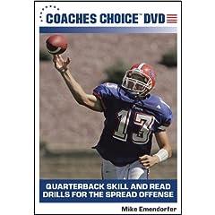 Quarterback Skill and Dread Drills for the Spread Offense
