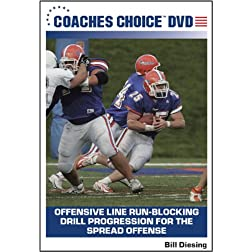 Offensive Line Run-Blocking Drill Progression for the Spread Offense