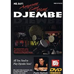 Mel Bay presents Anyone Can Play Djembe