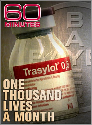 60 Minutes - A Thousand Lives a Month (February 17, 2008)