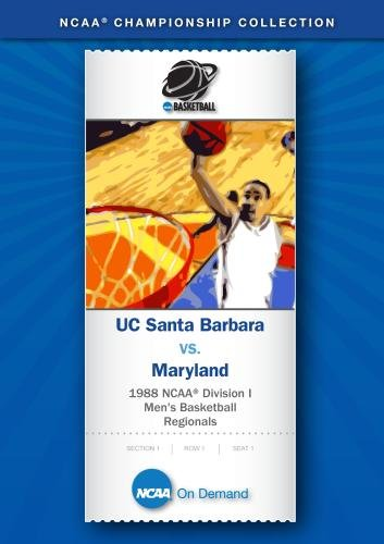 1988 NCAA Division I  Men's Basketball Regionals - UC Santa Barbara vs. Maryland