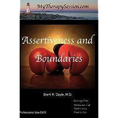 Assertiveness/Boundary Setting: Restoring Limits- Professional Use DVD Copy*