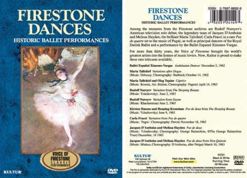 Firestone Dances: Historic Ballet Performances