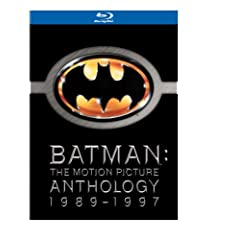 Batman Anthology (Batman / Batman Returns / Batman Forever / Batman & Robin) [Blu-ray]