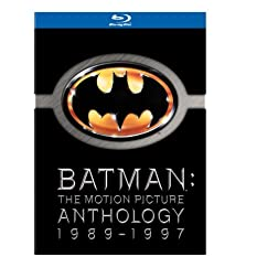 Batman Anthology (Batman / Batman Returns / Batman Forever / Batman & Robin) [Blu-ray]