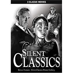 Silent Classics: Nosferatu; Dr. Jeckyll & Mr. Hyde; Metropolis