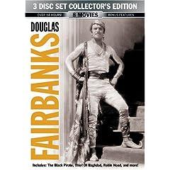Douglas Fairbanks 3 Disc Collector's Edition