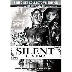 Silent Cinema 3 Disc Collector's Edition