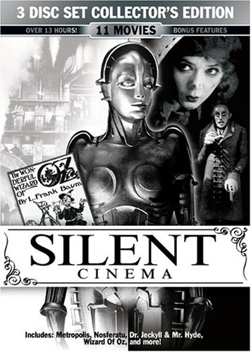 Silent Cinema 3 Disc Collector's Edition