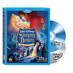 Sleeping Beauty (Two-Disc Platinum Edition + Standard DVD and BD Live) [Blu-ray]