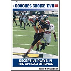 Deceptive Plays in the Spread Offense
