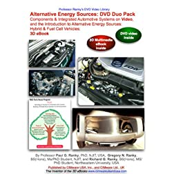 Alternative Energy DVD Duo: Alternative Energy Sources: Components & Integrated Automotive Systems, and the Alternative Energy Sources 3D eBook ... (NTSC DVD Video & 3D eBook Combo)