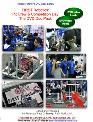 FIRST Robotics: Part 1: Pit Crew & Part 2: Competition Day (NTSC DVD Video Duo Pack)