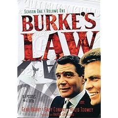 Burke's Law: Season 1 - Volume 1 (First 16 Episodes)