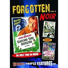 FORGOTTEN NOIR: Vol 9: Scotland Yard Inspector, Pier 23, The Case of the Baby-Sitter