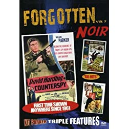 FORGOTTEN NOIR: Vol 7: David Harding, Counterspy; Danger Zone; The Big Chase