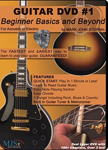GUITAR DVD #1 Beginner Basics and Beyond
