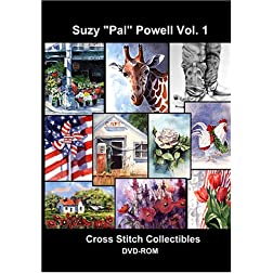 Suzy 'Pal' Powell Cross Stitch Vol. 1