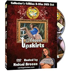 CandyGirl Video: Classic Upskirts (Collector's Edition 2-Disc Upskirt DVD set)