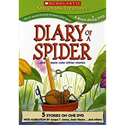 Diary of a Spider... and More Cute Critter Stories (Scholastic Storybook Treasures)