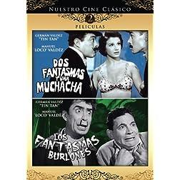 Nuestro Cine Clasico: Dos Fantasmas y una Muchacha / Los Fantasmas Burlones