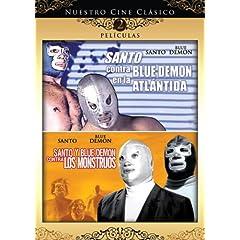 Nuestro Cine Clasico: Santo y Blue Demon en La Atlantida / Santo y Blue Demon Contra Los Monstruos