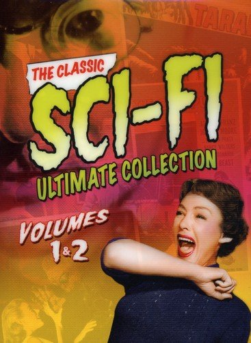 Classic Sci-Fi Ultimate Collection 1 & 2 (Tarantula/Mole People/Incredible Shrinking Man/Monolith Monsters/Monster on the Campus/Dr. Cyclops/Cult of the Cobra/Land Unknown/Deadly Mantis/Leech Woman)