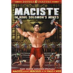 Maciste Against Hercules in the Vale of Woe/Maciste in King Solomon's Mines