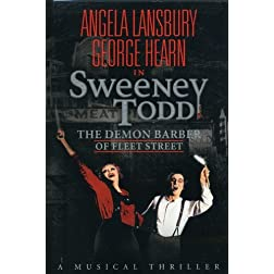 Sweeney Todd - The Demon Barber of Fleet Street (Broadway) (Keepcase)