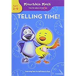 Munchkin Math: Telling Time