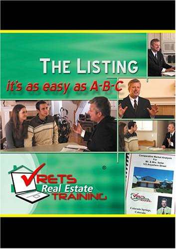 The Listing:   It's As Easy As A-B-C