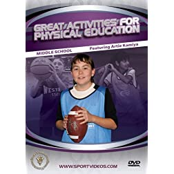 Great Activities for Physical Education: Middle School
