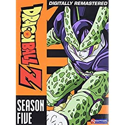 Dragon Ball Z - Season Five (Perfect and Imperfect Cell Sagas)