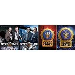 N.Y.P.D. Blue - Seasons 1-4