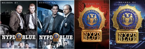 N.Y.P.D. Blue - Seasons 1-4