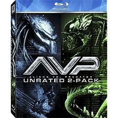 AVP - Alien vs. Predator / Aliens vs. Predator - Requiem (Unrated Two-Pack) [Blu-ray]