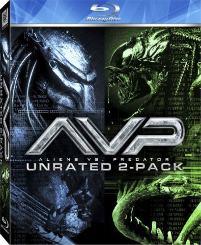 AVP - Alien vs. Predator / Aliens vs. Predator - Requiem (Unrated Two-Pack) [Blu-ray]